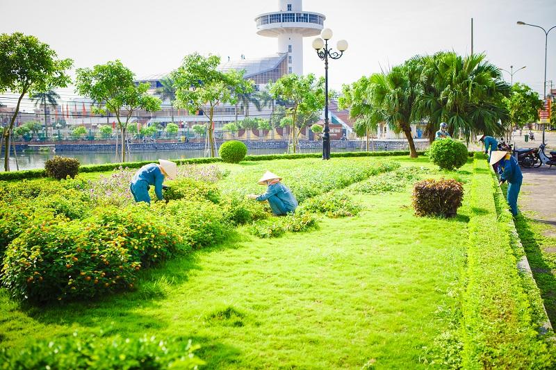 bảo dưỡng chăm sóc cây xanh công viên
